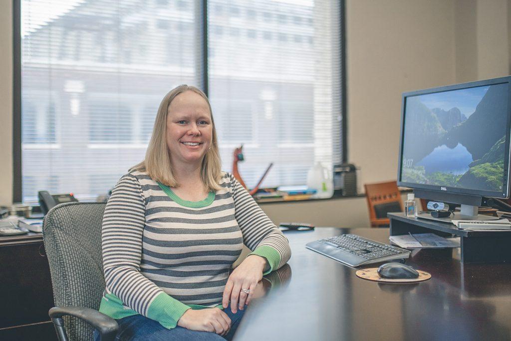 Lauren Roberts, CEO of CFM Distributors. President of Women in HVACR organization.